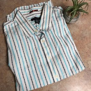 Calvin Klein striped dress shirt